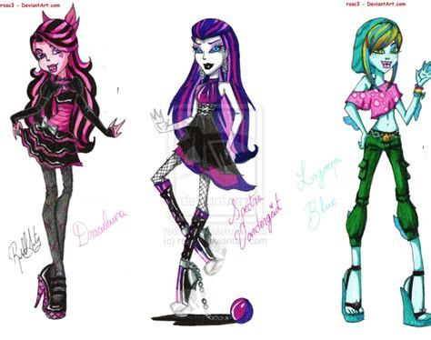 Monster High Fashions Part 4 By Rsac3.deviantart.com On