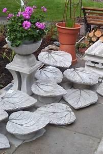Beton Deko Garten : beton bl tter als deko oder vogeltr nke verwenden garten pinterest beton bl tter ~ Sanjose-hotels-ca.com Haus und Dekorationen