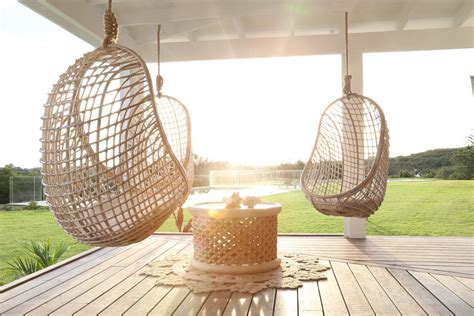 hanging porch chair outdoor hanging chair to create comfortable backyard