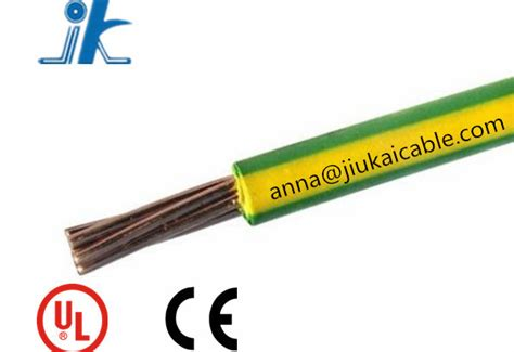 yellow green grounding cable earth wire earth cable