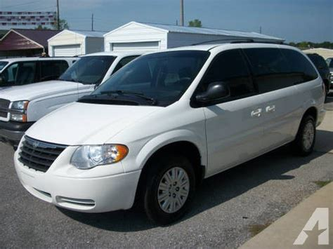 chrysler town  country mini van lx  sale