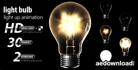 Light Bulb 142391 Motion Graphics Videohive Free