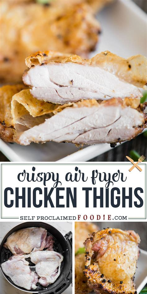 air fryer chicken thighs quick recipe duck recipes selfproclaimedfoodie whole oven soup