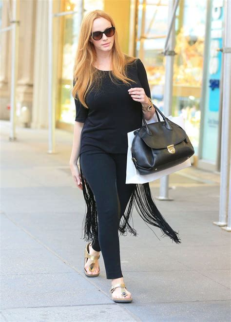 Christina Hendricks - Out Shopping in New York City ...
