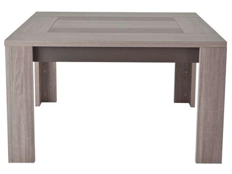 table de cuisine carree 8 places table carr 233 e 130 cm atlanta coloris ch 234 ne fusain vente de table de cuisine conforama
