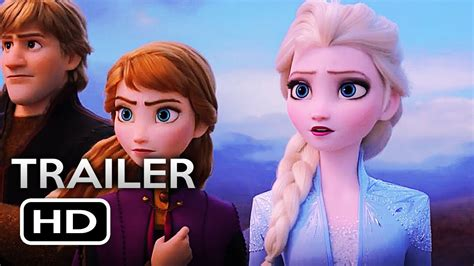 frozen  official trailer  disney animated  hd