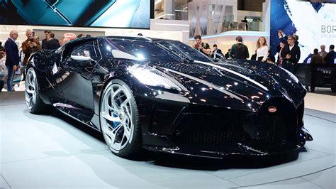 Bugatti brings a $12.5 million bespoke car to geneva. New Bugatti La Voiture Noire is the most expensive new car ...