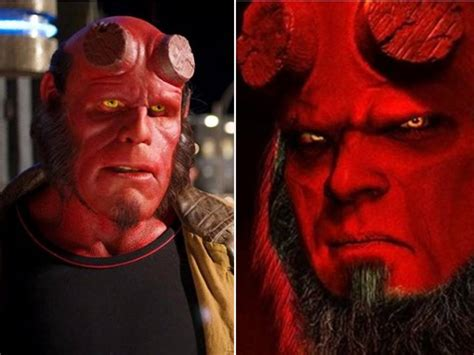 patton oswalt hellboy patton oswalt defuses hellboy feud brewing between ron