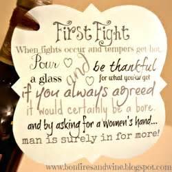 bonfires and wine diy wine wedding gift - Wine Wedding Gift