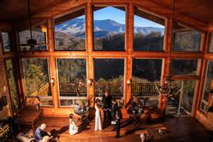 inexpensive wedding venues in gatlinburg weddings cabin wedding ceremonies in