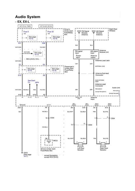 2005 honda odyssey wiring diagram wiring diagram for free