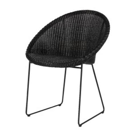 fauteuil colony en rotin noir house doctor