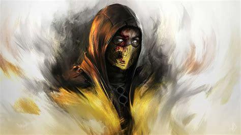 Mortal Kombat X Scorpion Art Wallpaper 16860