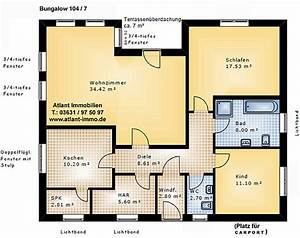 Gäste Wc Grundriss : bungalow 104 7 m einfamilienhaus neubau massivbau grundriss stein auf stein ~ Orissabook.com Haus und Dekorationen