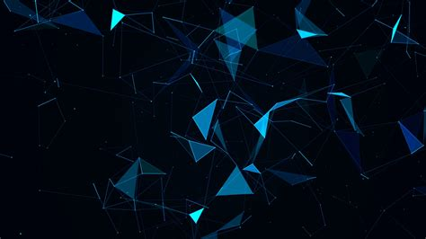 Animated Tech Wallpaper - futuristic technology background loop abstract line and