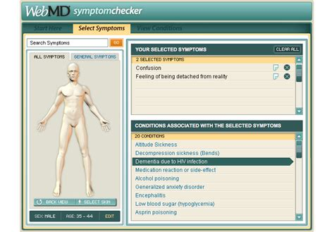 Webmd Symptom Checker