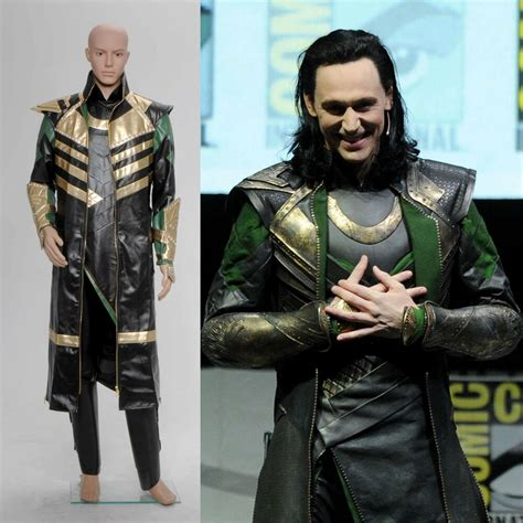 Thor The Dark World Loki Laufeyson Costume Cosplay Outfits