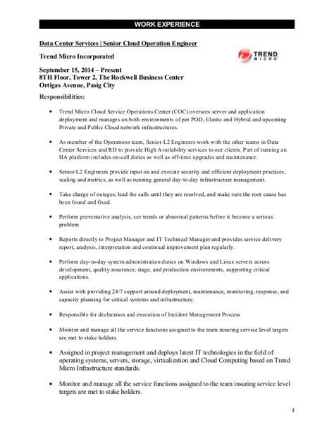 Data Center Network Engineer Resume by Resume Jason