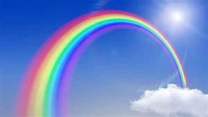 Rainbow In The Sky. Stock Footage Video 687001 | Shutterstock