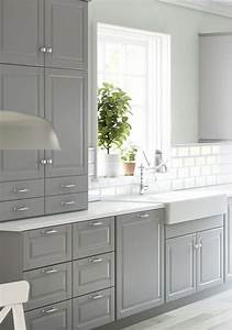 Ikea Bodbyn Grau : bodbyn ikea k che grau 01 k che kitchen pinterest keuken grijs ikea keuken en ikea ~ Markanthonyermac.com Haus und Dekorationen