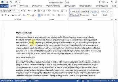 Inhoudsopgave Word Maken Een Automatische Schrijven Hoe