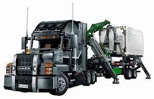 Lego Technic Camion : lego technic 42078 pas cher mack anthem ~ Nature-et-papiers.com Idées de Décoration