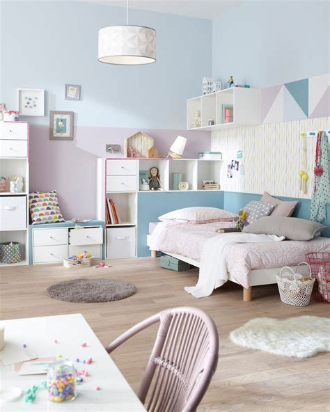 dans chambre décoration chambre couleur pastel