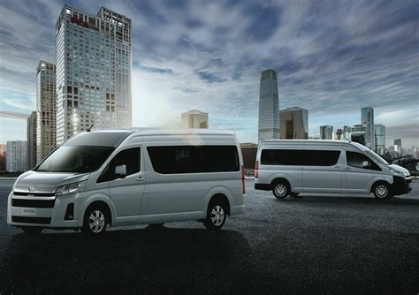 toyota hiace officially revealed