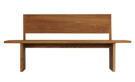 easy pieces modern wooden benches  backs remodelista
