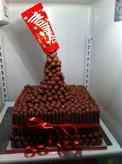 gravity malteser chocolate cake cakes