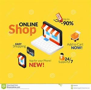 Set Online Shop : online shopping logo set stock vector image 60683506 ~ Orissabook.com Haus und Dekorationen