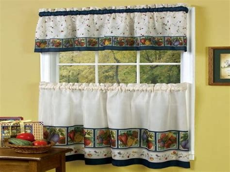 Curtain Treatments Country Kitchen Curtains Kitchen