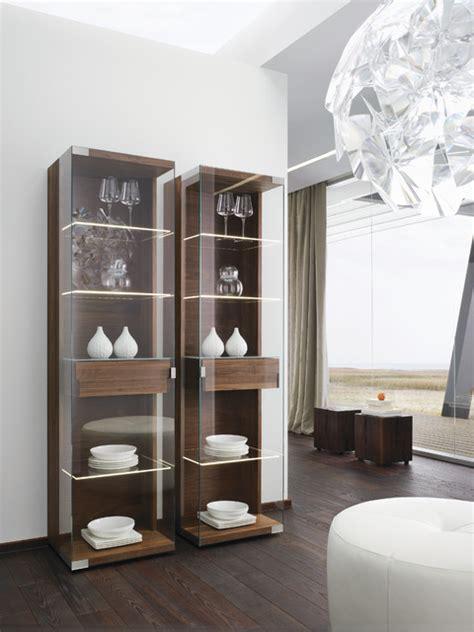 modern buffets and china cabinets nox walnut modern display cabinets modern sideboards
