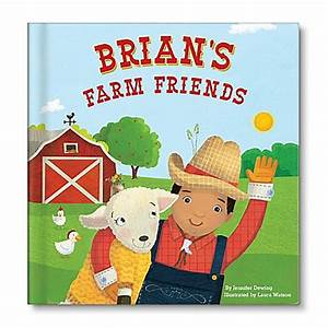 "Personalized Children's Board Book: ""My Farm Friends"" by ..."