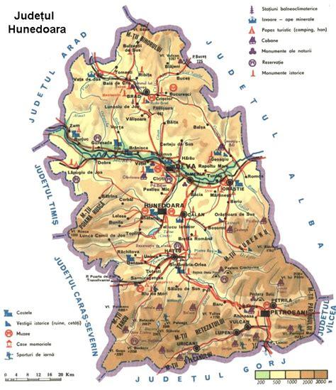 Harta Romaniei, Harta Rutiera Romania