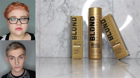 Blond Brilliance Hair Toner Review Youtube
