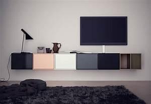 Design Tv Lowboard : 10x zwevende tv meubel homease ~ Frokenaadalensverden.com Haus und Dekorationen