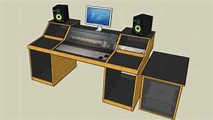 Sound Construction Studio Desk