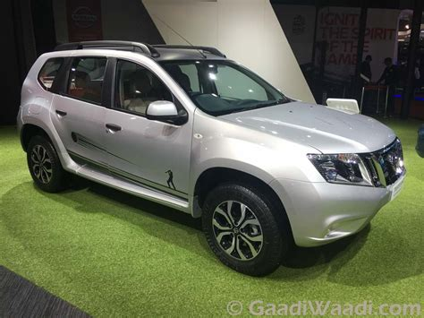nissan terrano  micra  cricket edition unveiled