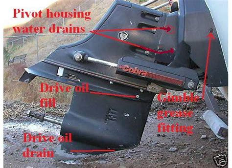 Boat Leaks Around Plug by Water In Stern Drive Gear Oil The Hull Truth Boating