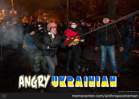 Ukraine Meme - angy ukrainian by anthropoceneman meme center