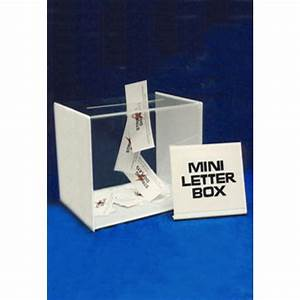 acrylic mini letter box With acrylic letter box