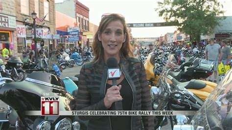 Sturgis Celebrating 75th Bike Rally This Week
