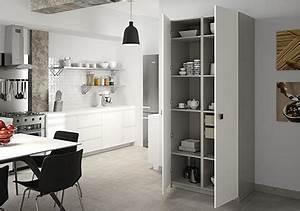 armoire de cuisine sur mesure rangement design pratique With rangement pour armoire de cuisine