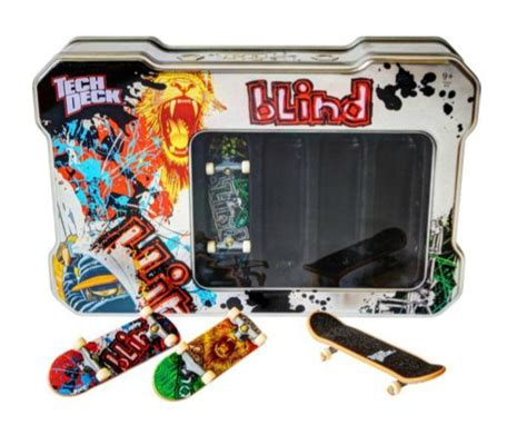 Tech Deck Fingerboards Argos by Tech Deck Tin With 4 Boards 163 5 99 Argos