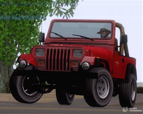jeep wrangler  gta san andreas