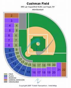 Cashman Field Seating Chart