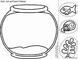 Bowl Fish Drawing Draw Bowling Coloring Oatmeal Getdrawings sketch template