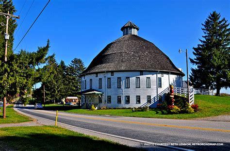 [retro Roadmap] The Round Barn In Biglerville