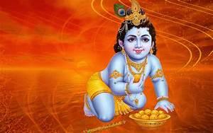 Hindu God Wallpapers: Lord Krishna Childhood HD Wallpapers ...